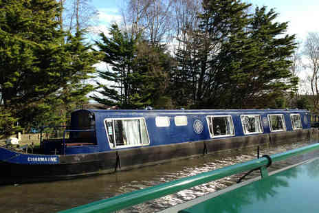 Burscough Boat Hire - 90 Minute canal ride & afternoon tea - Save 50%
