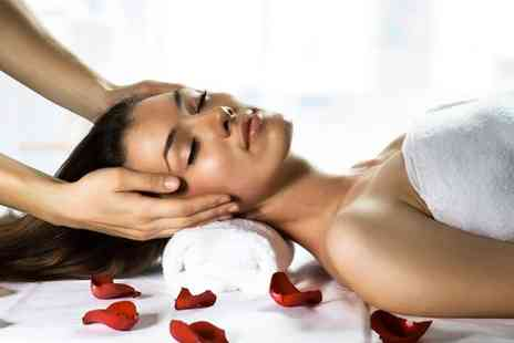 Sorayah Beauty - Relaxing full body massage with an Indian head massage for two - Save 83%