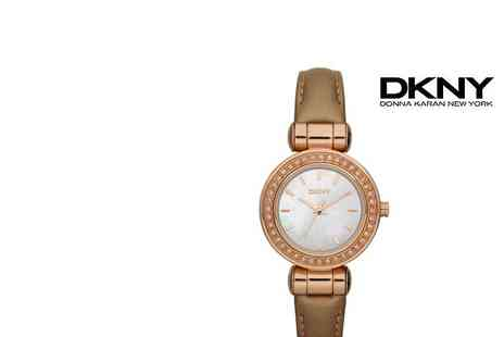 DKNY - Rose Gold Coloured Ladies Watch - Save 36%