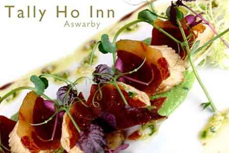 The Tally Ho Inn - Two Course Pub Meal For Two - Save 62%
