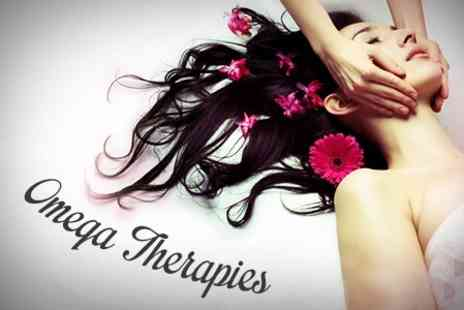 Omega Therapies - One Hour Full Body Massage or Indian Head Massage - Save 53%