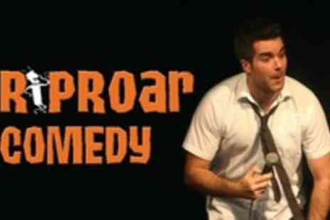 Riproar Comedy - Two tickets to the comedy show and entry to the after-show disco - Save 63%