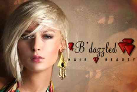 B'Dazzled - Full Head of Highlights With Cut and Finish - Save 66%