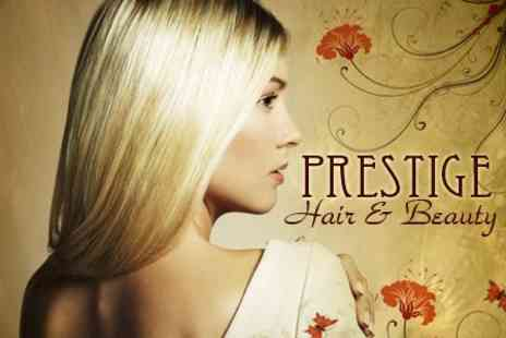 Prestige Hair Studio - Half Head Highlights One Colours With Cut and Finish - Save 62%