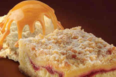Baskin Robbins - Two Winter Warmer Desserts and Coffees - Save 52%