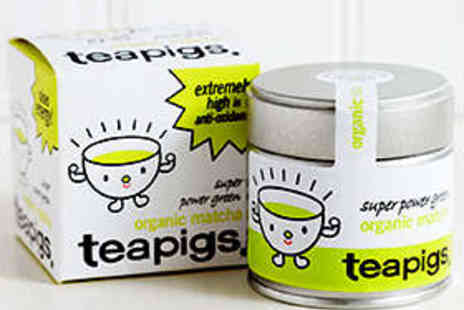 Teapigs - Teapigs Organic Matcha Green Tea - Save 28%