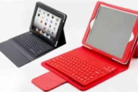 Gal Cochrane - Bluetooth wireless leather keyboard case for iPad - Save 63%
