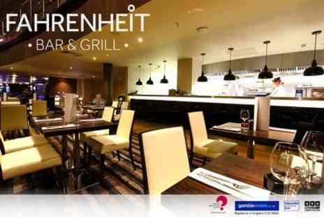 Fahrenheit Restaurant - Two Course A La Carte Meal For Two - Save 58%