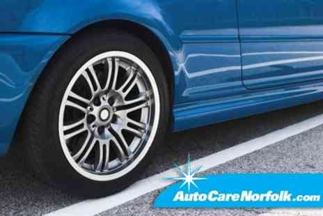 Autocare Norfolk - Valet or Full Body Buff With Chip and Scratch Touch Up - Save 54%