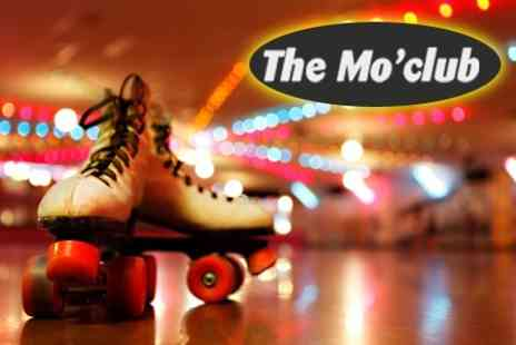 The Mo' Club - Roller Disco Entry For Two Adults - Save 50%