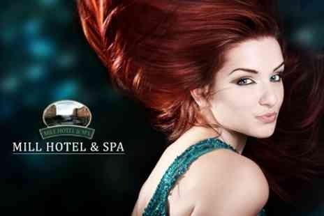 Mill Hotel and Spa - Cut and Finish With Condition, Hot Towel and Head Massage - Save 59%