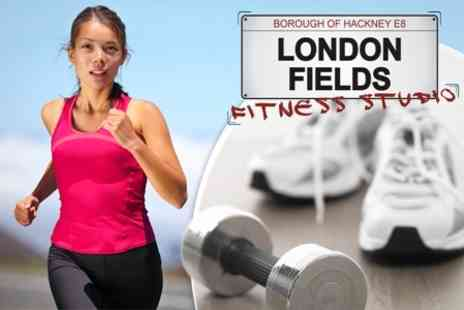 London Fields Fitness - Personal Training Session and Six Exercise Classes - Save 87%