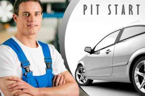 Pit Start Garage - Three Hour Car Service, Full Valet and MOT - Save 84%