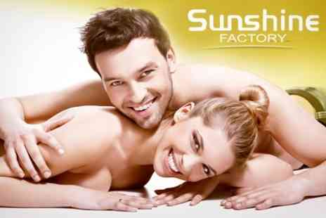 The Sunshine Factory - Waxing Brazilian or Hollywood With Underarms - Save 56%