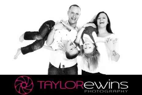 Taylor Ewins Photography - Family Photoshoot With Ten Prints - Save 97%