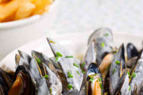 Hilton London Tower Bridge - Scottish Black Mussels with Fries and Wine for Two - Save 60%