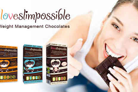 I Love Slim Possible - Boxes of this iLoveSlimPossible slimming chocolate 36 bars - Save 41%