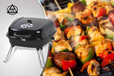 Amir - Back Chrome Plated MC 21 Mastercook foldaway charcoal BBQ - Save 42%