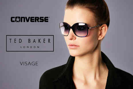 Designer Glasses Brands - Converse, Visage, or Ted Baker Marley sunglasses - Save 70%