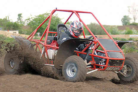 Dirt Buggy - An up to 3 Hour off road buggy racing experience - Save 57%