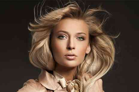 Swagger Hair & Beauty - Full head of highlights or a full head of colour with a restyle, blow dry and deluxe conditioning treatment - Save 73%