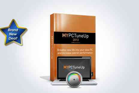 My Security Center - Download MYPC TuneUp 2013 and receive a Clean Up and Optimisation service carried out by a certified technician - Save 82%
