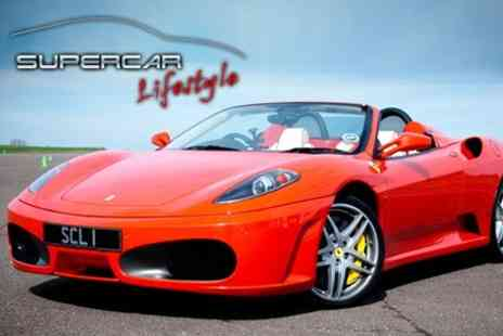 Supercar Lifestyle - Two Laps in a Choice of Supercar Including Ferrari 360 - Save 50%