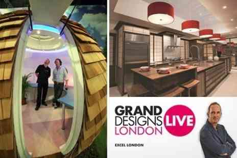 Grand Designs Live - Grand Designs Live Entry for Two With Show Guide - Save 55%