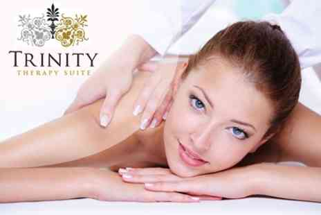 The Therapy Suite - Elemis Facial With Deep Tissue Massage - Save 60%