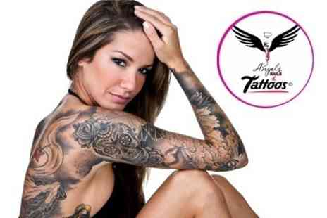 DAngels Nails and Tattoos - Bespoke Tattoo With Minimum 45 Minute Ink Time - Save 50%