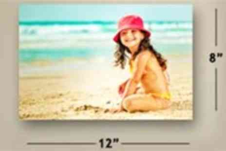 Your Image On Canvas - An A4 personalised canvas print - Save 96%