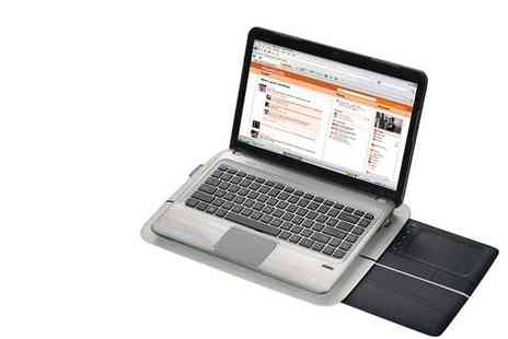 Logitech - Touch Lapdesk N600 Laptop Accessory - Save 50%