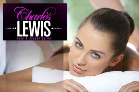 Charles Lewis Hair and Beauty - Full Body Massage and Dermalogica Facial - Save 64%