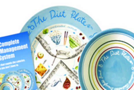 The Diet Plate - Diet plate and calorie control bowl - Save 55%