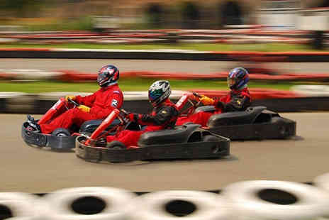 Kart Pro - 30 Minute outdoor go karting experience - Save 66%