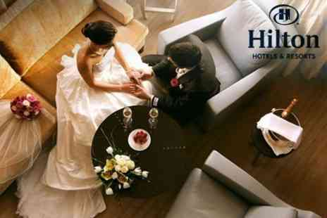 Hilton Portsmouth - Wedding Package With Three Course Breakfast and Wine For 50 and Evening Buffet For 70 - Save 27%
