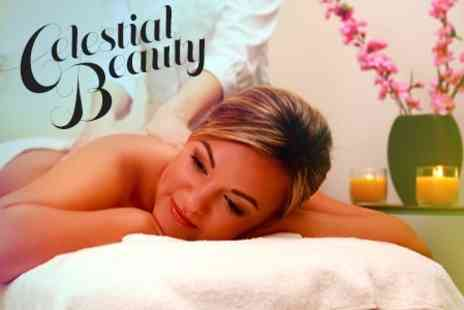 Celestial Beauty - Medik8 Facial With Back, Neck and Shoulder Massage - Save 67%