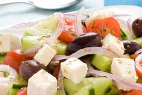 Bouzouki By Night - Fifteen Dish Greek Mezze for Two with Live Music - Save 52%