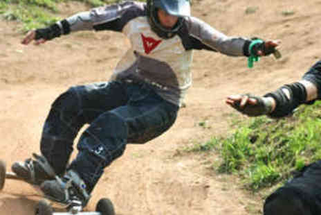 Ride the Hill - Two Hour Mountainboarding Lesson and Ride for Two - Save 50%
