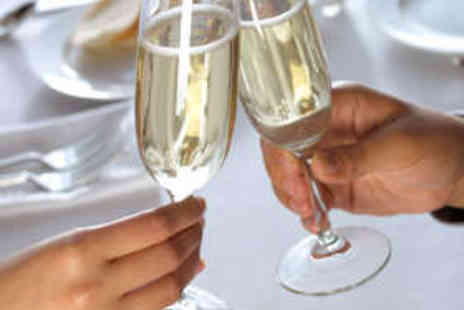 Hilton - Two Course Meal for Two with Bubbly - Save 42%