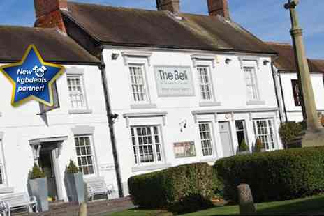 The Bell Inn - Two night stay for two including full English breakfast - Save 50%