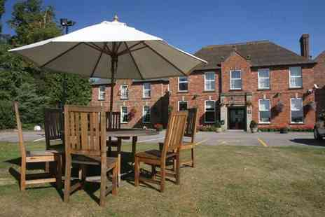 Hatherley Manor - One night stay for 2 inc. Prosecco, breakfast & dinner - Save 48%