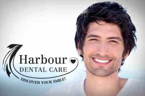 Harbour Dental Care - Dental Check Up with Teeth Whitening Trays - Save 17%