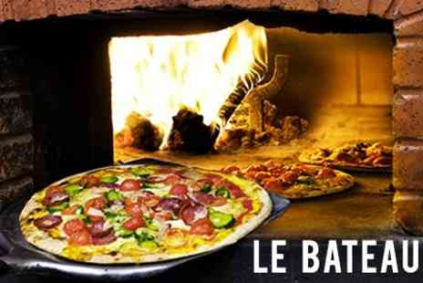 Le Bateau - Two Courses With Wine For Two - Save 52%