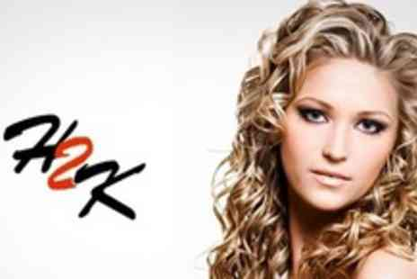 Hair 2K - Half Head of Highlights or Full Head of Colour Plus Cut and Blow Dry - Save 67%