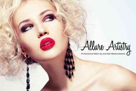 Allure Artistry - One Day Hair and Make Up Course With Make Up Gift For One - Save 82%