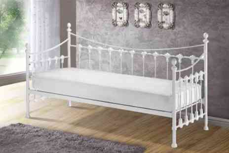 GRS Global - Metal French Day Bed - Save 69%
