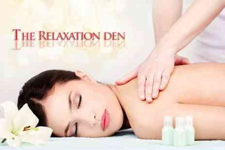 The Relaxation Den - Full Body Massage Plus Mini Facial - Save 60%