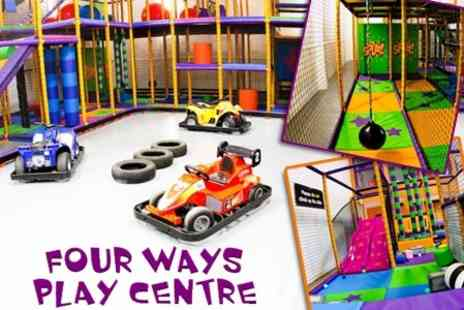 Fourways Play Centre - Soft Play For Two Children Plus Drinks - Save 59%