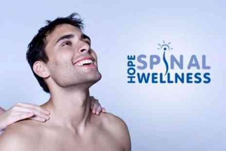 Hope Spinal Wellness - Two 30 Minute Sports Massages Plus Chirolates or Posture Workshop - Save 57%